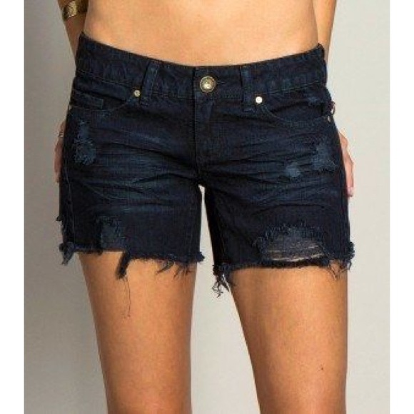 O'Neill Pants - O'Neill black Around Town shorts, Sz. 5
